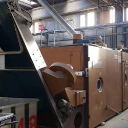 Anglade Turbang Tumble Dryer Machine yoc 1996 ww 220cm 2 chamber