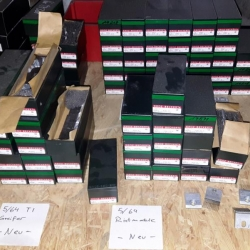 Various spare parts for tufting machines
