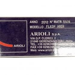 ARIOLI FLASH AGER yoc 2012 ROLLER WIDTH: 2000 MM