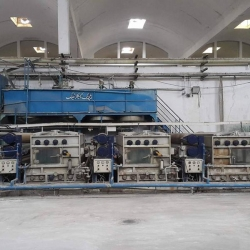 Yongda Continuous Bleaching Plant Made in China, Year 2006, R.w 3400 mm, w.w 3200 mm,