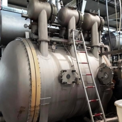 MCS MULTIFLOW rope dyeing machine yoc 2002 450 KG capacity