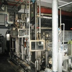 Continuous washing and drying unit MENZEL