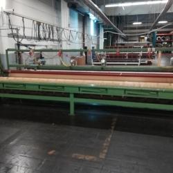 EMIL Hoogland GmbH Longitudinal cutting machine, with 5 round knives ww 500cm