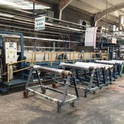 Mercerization machine for cotton and mixed fiber woven fabric (Hot Mercerization)