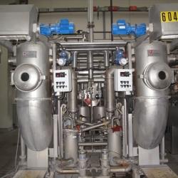 Brazzoli Cameldyeing 50+50 coupled dyeing machines