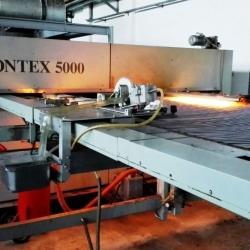 2 x MONFORTS MONTEX 5000 yoc 2000 ww 2400mm horizontal 6 chamber Gas heating