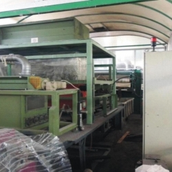 Flocculation and flock printing machine, yoc 2003