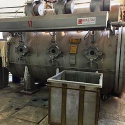 2 pcs Brazzoli Brand HT Dyeing Machine, 600KG 2005 and 400KG 2004