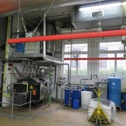 steam boiler installation, manufacturer: YGNIS Kessel AG,