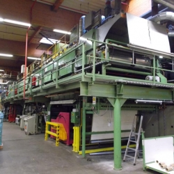 double dot coating unit CARATSCH-Zimmer-Magnoroll with magnet squeeguee