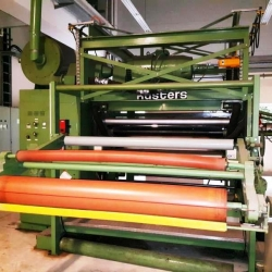 KÜSTERS Calander and Embossing Calander - Year of manufacture 1988 - Working width 160 cm