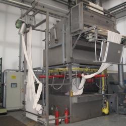 DORNIER tubular fabric singeing machine