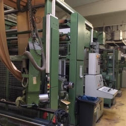 Brückner stenter frame Year of construction 1997 - Working width 200 cm - 8 chamber, gas heated