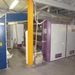 Calandra transfer Monti Antonio, ww 1800mm, yoc 1998 + inspection machine