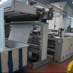 FERRARO OPEN WIDTH COMPACTOR,  with chain, 2400mm, yoc 2008