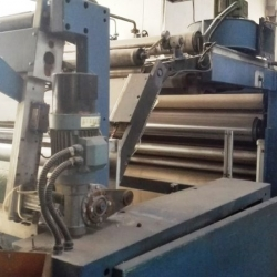 SPEROTTO RIMAR TUBULAR SANFORISING MACHINE YOC 2000 WORKING WIDTH 165 CM