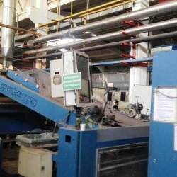 SANTEX Dryer control Siemens 5 chamber with gas one passage ww 2600 mm, yoc 2000