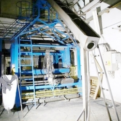 BIANCO Tubular fabric cutting machine, www 240 cm