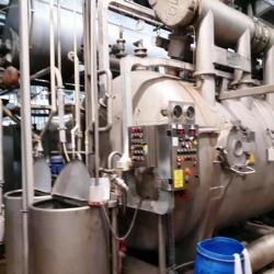 MCS MULTIFLOW rope dyeing machine yoc 2002 600 KG capacity