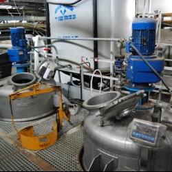 Reactor SAVER-MAKINA, capacity 2000 liters, yoc 2012