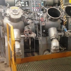Hisaka Jet dyeing machine for dyeing rope fabrics in HT,Type CUT-SR – 2L