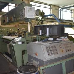 Backing line BRUCKNER-Dyeing machine