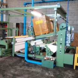 LATEX/ PU IN SOLVENT LAMINATING LINE YOC  2002 WORKING WIDTH 1800MM