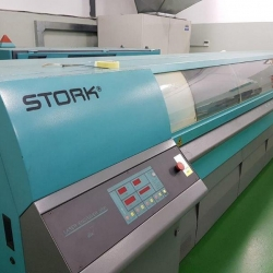 STORK ENGRAVING PLANT FOR ROTARY PRINTING, with Stork A 300