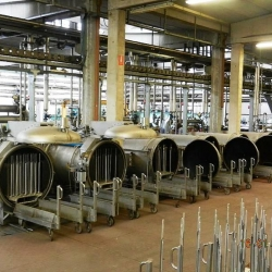 FLAINOX yarn dyeing plant, 10-18 tons per day