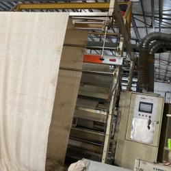 LAFERTURK velvet shearing machine, ww 2400mm, yoc 2002