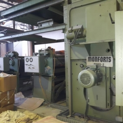 MONFORTS Thermosol Continuous Dyeing Range ww 1600mm yoc 1997