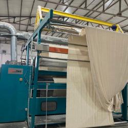 LAFERTURK shearing machine, ww 2600mm, yoc 2012