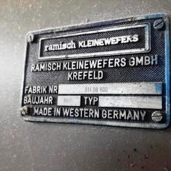 RAMISCH KLEINEWEFERS Washing (lightbleaching) machine, yoc 1992, ww 240cm
