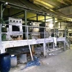 BABCOCK WASHING MACHINE 5 BATHS WORKING WIDTH 3400 MM (VALID 3300 MM) YOC 1991