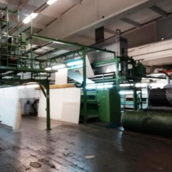 MENSCHNER horizontale Shearing machine ww 500 cm 3-headed shearing