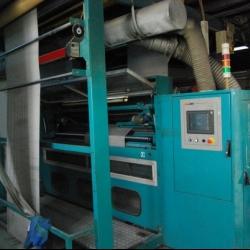 LAFERTURKshearing machine, ww 2200mm, yoc 2004