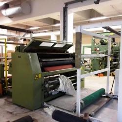 Embossing calander make Heinz Hergert Textile machines ww 1700mm yoc 1997