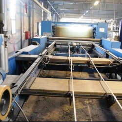 LAFER Sanforising with chain yoc 2009 Working width 2.40 m