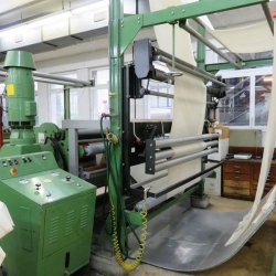 2 rollers padder with 1 swimming roller, brand: Küsters, type: 222.58-2200