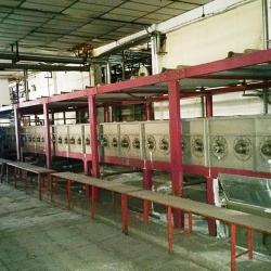 Mercerising chainless JIANGSU ((China) yoc 2007 ww 220cm 7 washing compartments 89 cylinders for mercerising