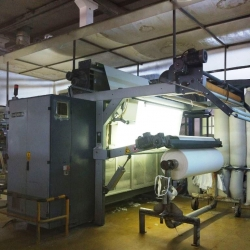 MEMNUN Brush Sueding Machine  Model MELISA MSD 6005 year 2006 2000mm working width