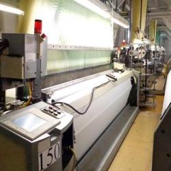 4x Picanol Airjet Jacquard Weaving Looms, Rapport at 88 threads/cm the Rapport is 30cm at 44 threads/ cm the rapport is 60 cm