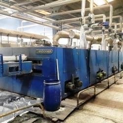BRÜCKNER Stenter Yoc 2002 Indirect oil heating 6 fields Working width 2400mm