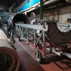 THEN Beam dyeing machine, ww 500cm