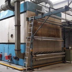 Curing Machine Made in Pakistan, Year 2006, w.w 3200 mm, Gas Heated,