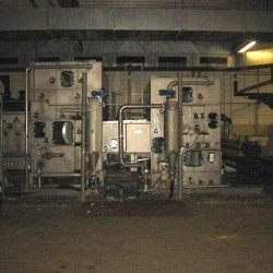 WET-TEX washing machine, ww 3200mm, yoc 1999