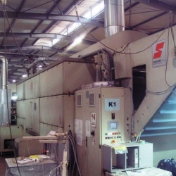 SALVADE chainless relex dryer, yoc 2002, Width of belt 260 m