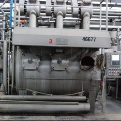 CMS CANLAR HTHP dyeing machine, yoc 2002, 450KG