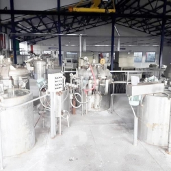 Yard dyeing factory, capacity 6-7 t/day