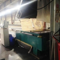 BUSER PRINTING MACHINE 2005 YEARS WW.2400 MM. 12 COLORS GAS HEATED